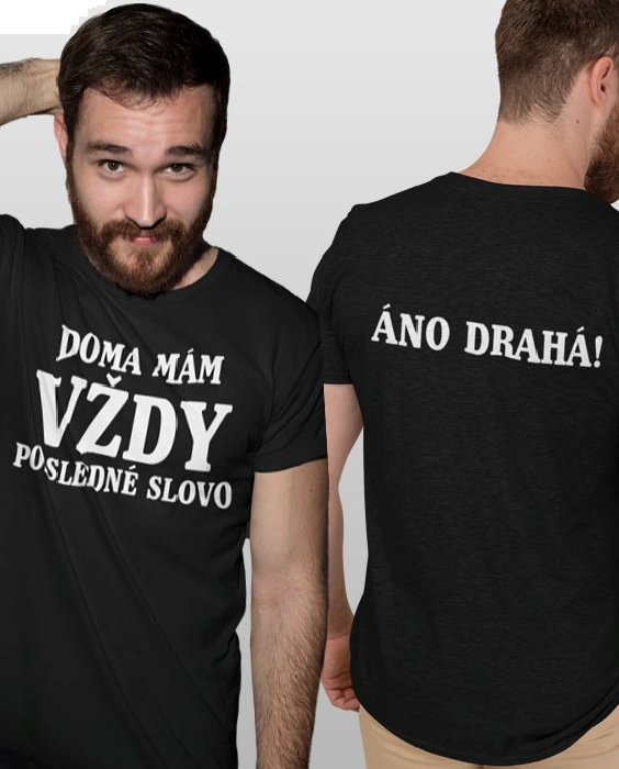 Smiešne tričko áno drahá