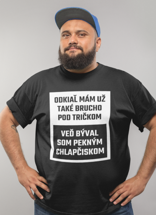 Smiešne tričko brucho