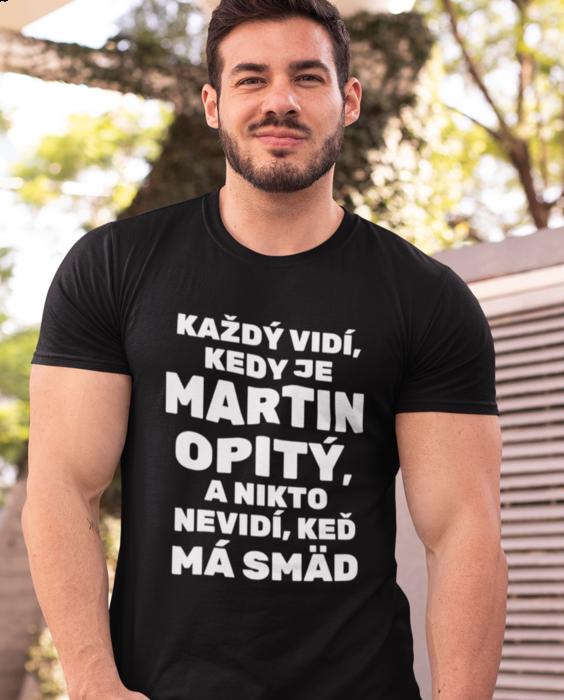 Smiešne tričko Smädný