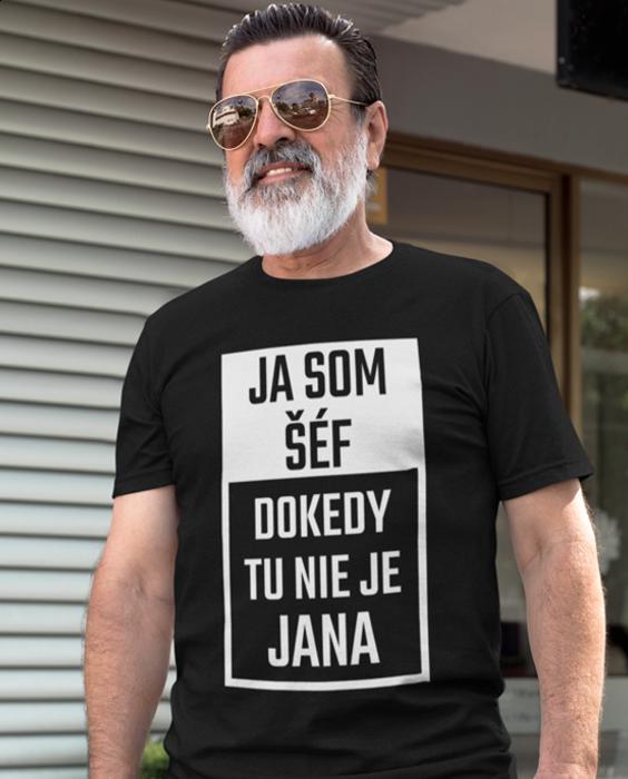 Smiešne tričko ja som šéf