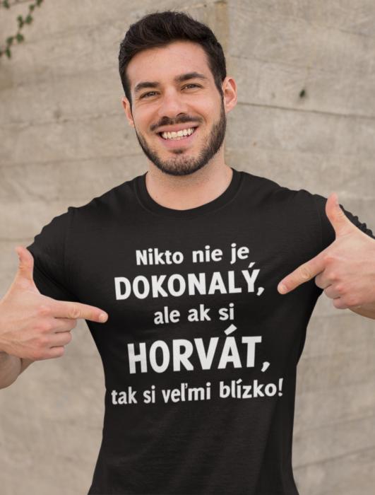 Smiešne tričko Nikto nie je dokonalý