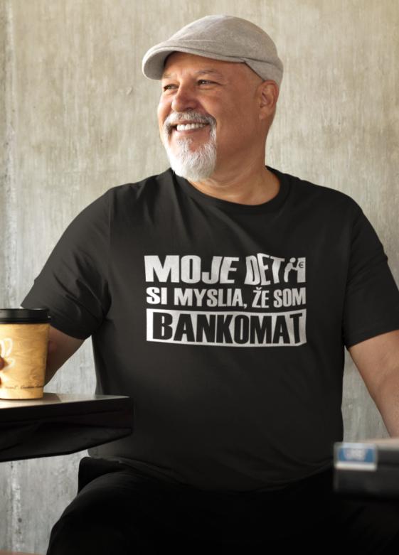 Smiešne tričko bankomat
