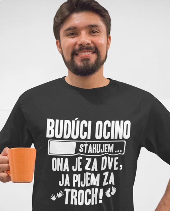 Smiešne tričko budúci ocino