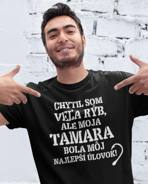 Smiešne tričko najlepší úlovk (ženské meno)