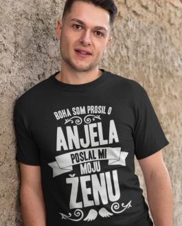 Smiešne tričko poslal mi anjela