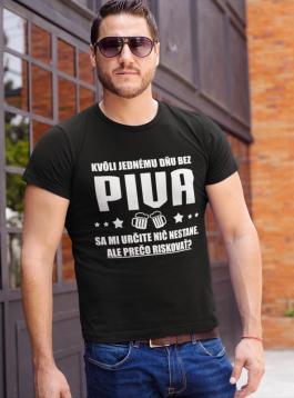 Smiešne tričko deň bez piva