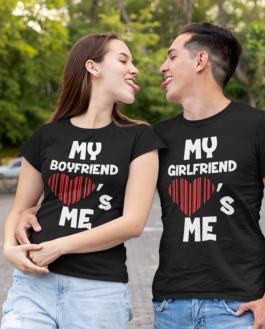 Smiešne tričká KOMPLET - my loves me