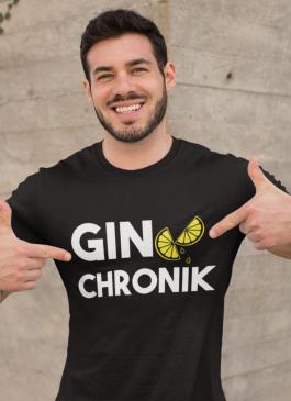 Smiešne tričko gin chronik