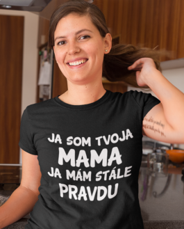 Smiešne tričko ja som tvoja mama / otec