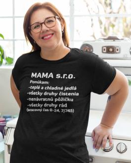 Smiešne tričko mama s.r.o.