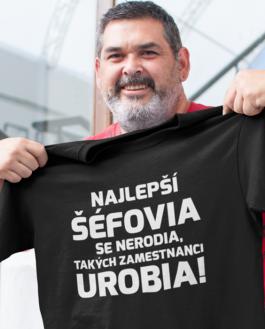 Smiešne tričko najlepší šéfovia