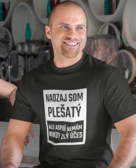 Smiešne tričko plešatý